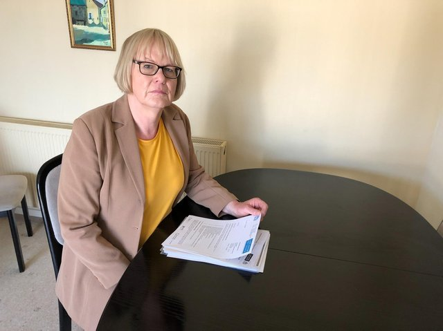 Stephie Barber pictured during her stint as leader of the Conservatives for Lancaster and Morecambe.