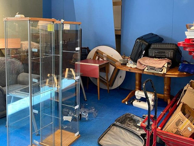 The Age UK furniture shop in Lancaster was broken into over the bank holiday weekend. Thieves ransacked the shop, damaged stock and stole cash and computer equipment.