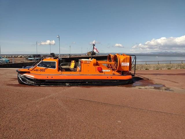 Morecambe lifeboat. Photo: Morecambe RNLI
