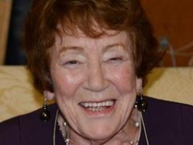 Joan Crayston (nee Ward).