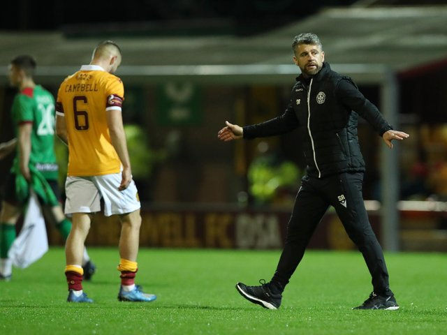 Stephen Robinson had a successful spell as manager of Motherwell