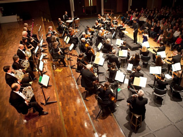 Lancaster's Haffner Orchestra has made a youtube recording of 'Nimrod' from Elgar's Enigma Variations.