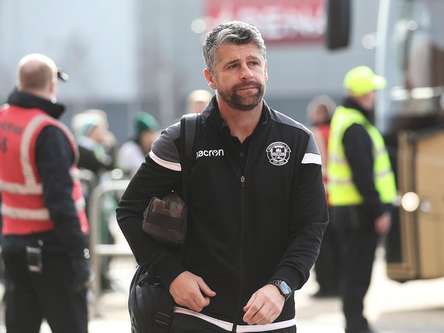 Morecambe's new manager Stephen Robinson