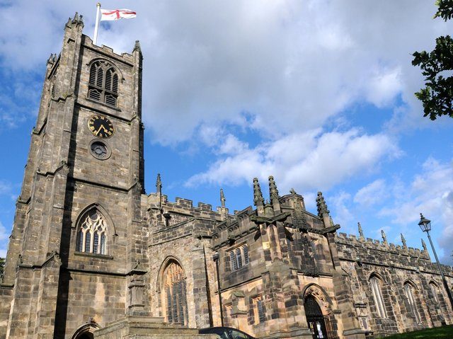Lancaster Priory Church.