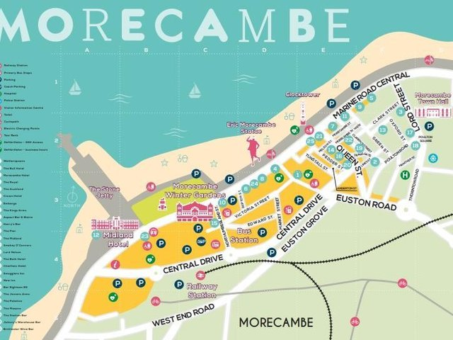 Morecambe's Food and Drink Trail has been updated for 2021.