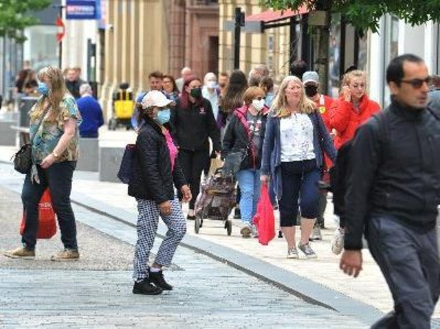 Customers are returning to our high streets