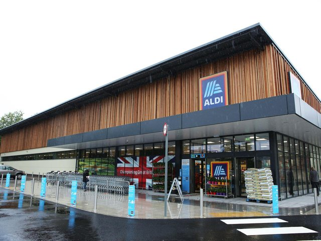 Aldi opened a new store in Lancaster in 2020.