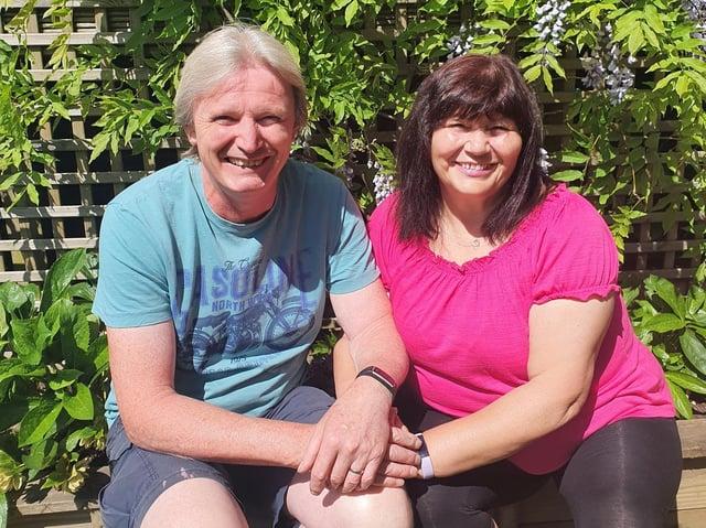 Richard and Coral Varley.