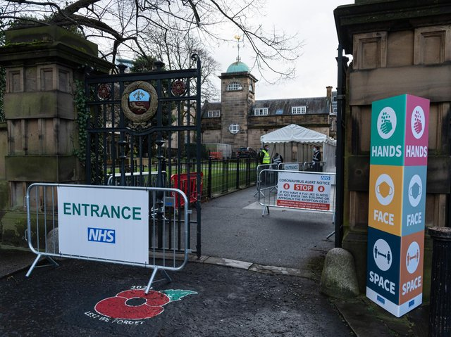 More than 15 walk-in and pop-up centres will be open across Lancashire and south Cumbria, including at Lancaster Town Hall.