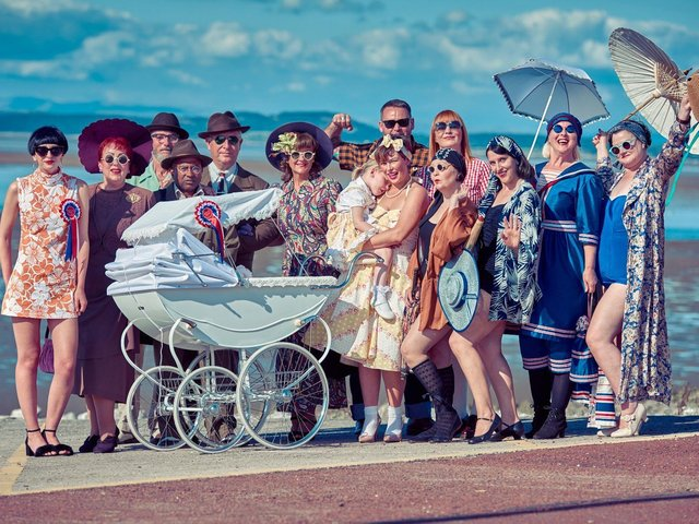 Vintage by the Sea 2018. This year's Vintage by the Sea festival has been cancelled due to Covid-19.
