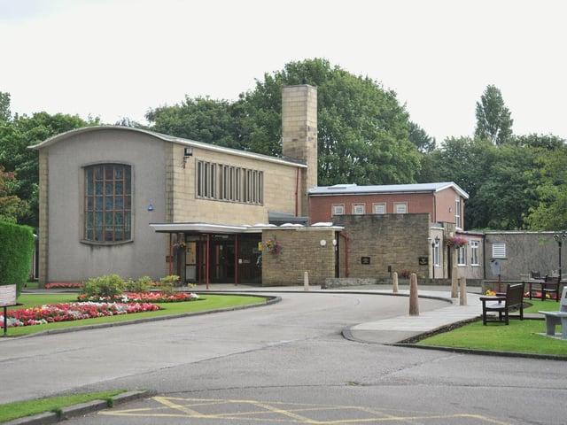 Lancaster and Morecambe Crematorium.