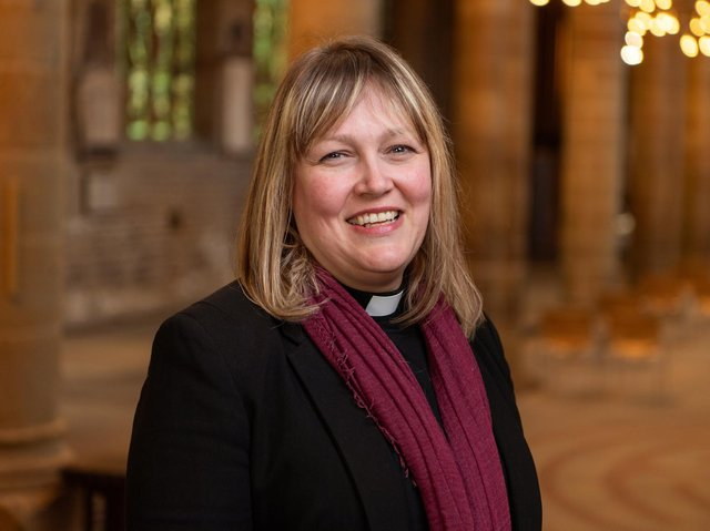 Canon Leah Vasey-Saunders. Photo: Wakefield Cathedral