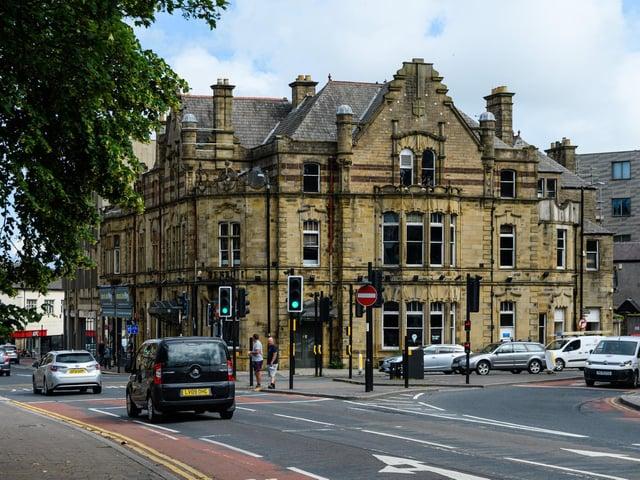 The iconic Alendandra Hotel in Lancaster
