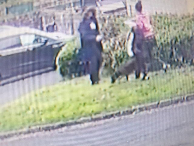 Police have released CCTV images of two people they would like to speak to in connection with arson to a vehicle on Bath Street in Lancaster.