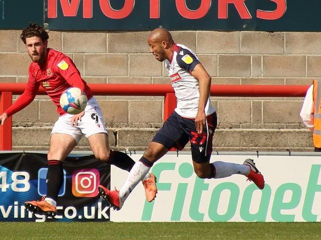 Morecambe striker Cole Stockton netted 15 times last season