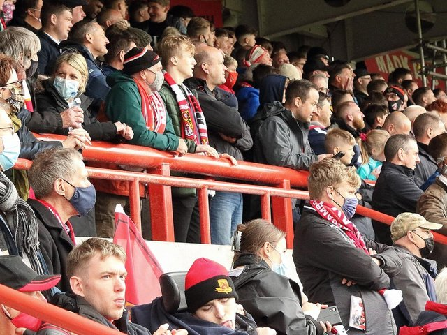 Morecambe general manager Ben Sadler wants to hear from supporters