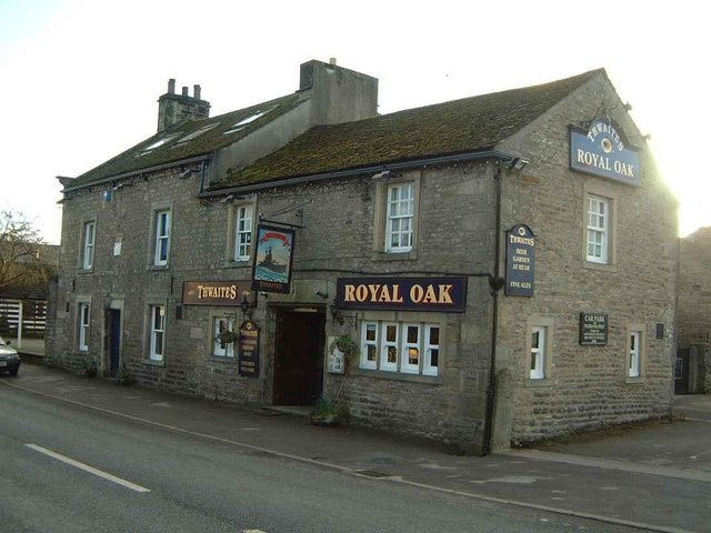 The Royal Oak in Hornby is being marketed by Fleurets.