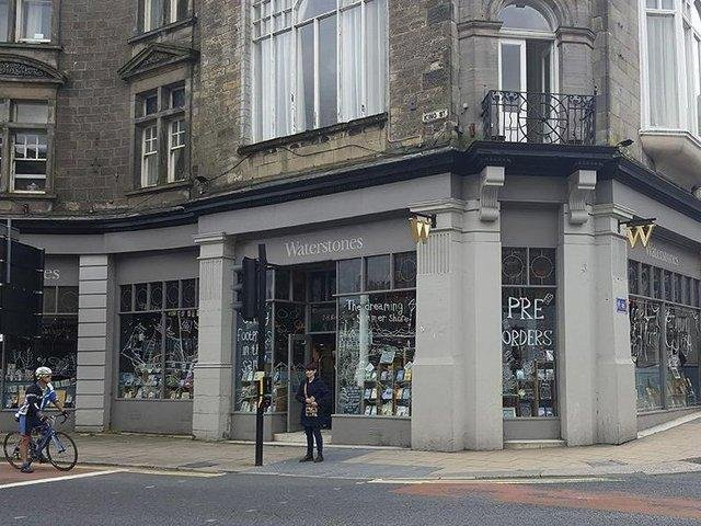The former Waterstones in King Street could be turned into a coffee shop.