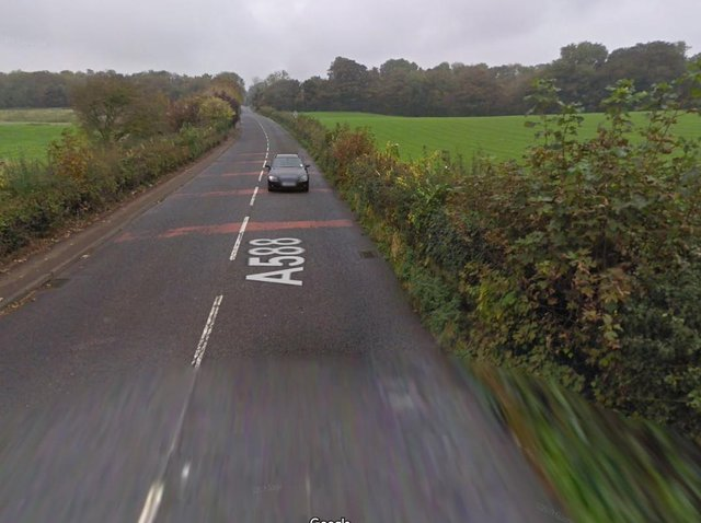 The site is off Ashton Road at Stodday, south Lancaster. Photo: Google Street View