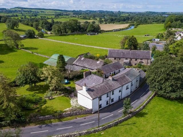 Mansergh Farmhouse. Picture courtesy of Edwin Thompson, Keswick.