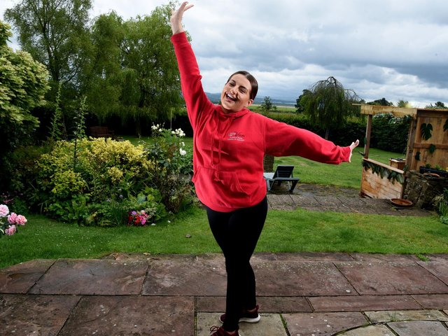 Ellena  is celebrating being a finalist in the BBC Lancashire awards