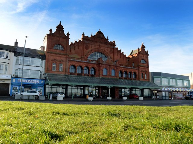 The Winter Gardens, Morecambe. Photo by Neil Cross.