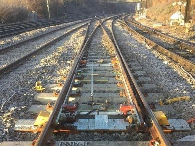 Rail routes through Lancashire and Manchester are congested