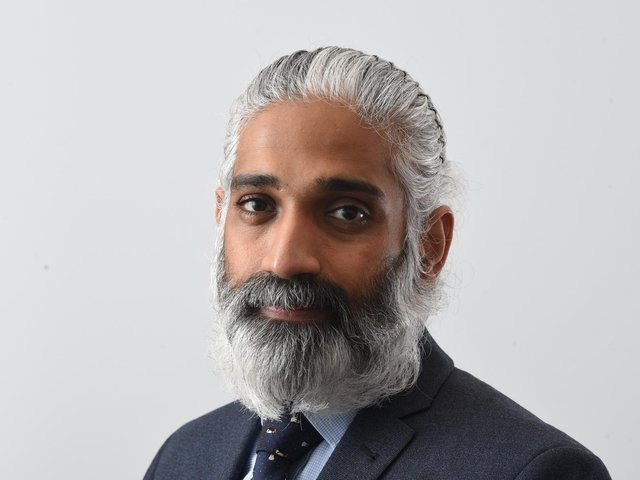 Dr Sakthi Karunanithi, director of public health for Lancashire County Council