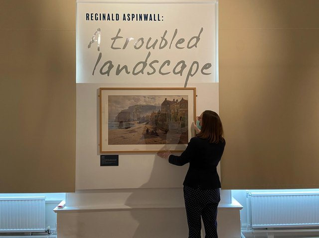 The exhibition explores the works of Reginald Aspinwall, who was born in Preston but lived in Lancaster for much of his life